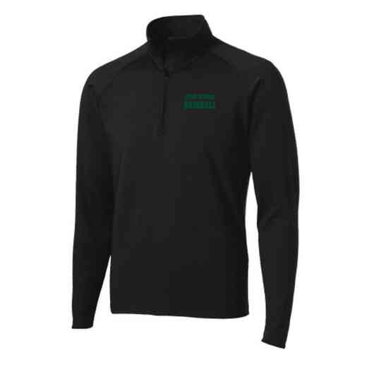 Baseball Sport-Tek Embroidered Mens Half Zip Stretch Pullover