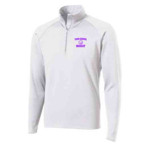 Basketball Sport-Tek Embroidered Mens Half Zip Stretch Pullover