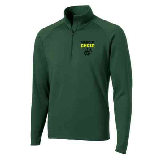 Choir Sport-Tek Embroidered Mens Half Zip Stretch Pullover