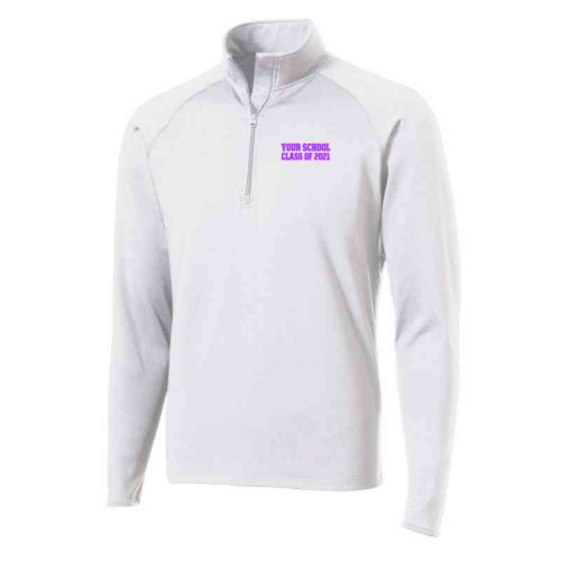 Class of  Sport-Tek Embroidered Mens Half Zip Stretch Pullover