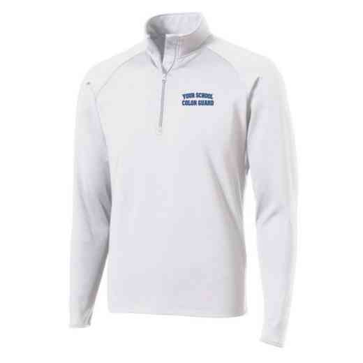 Color Guard Sport-Tek Embroidered Mens Half Zip Stretch Pullover