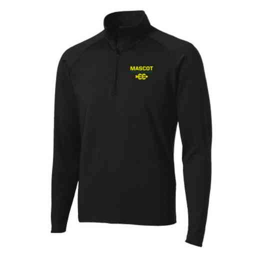 Cross Country Sport-Tek Embroidered Mens Half Zip Stretch Pullover
