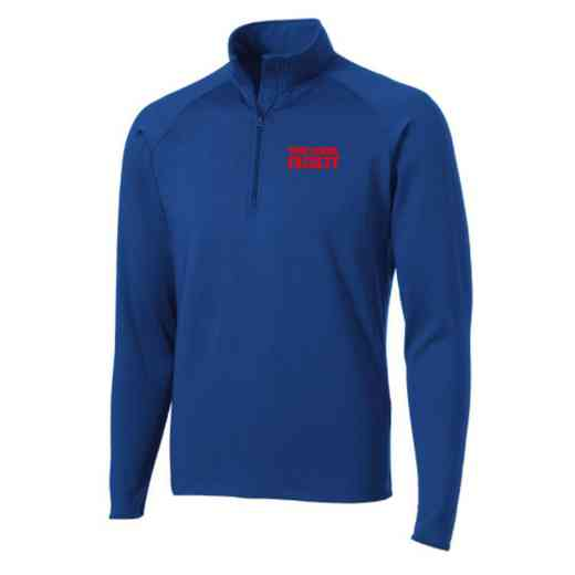 Faculty Sport-Tek Embroidered Mens Half Zip Stretch Pullover