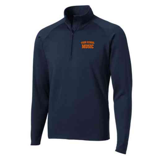 Music Sport-Tek Embroidered Mens Half Zip Stretch Pullover