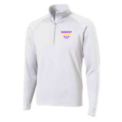 Tennis Sport-Tek Embroidered Mens Half Zip Stretch Pullover