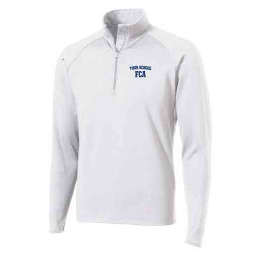 FCA Sport-Tek Embroidered Mens Half Zip Stretch Pullover