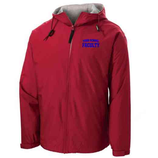 Faculty Embroidered Nylon Team Jacket
