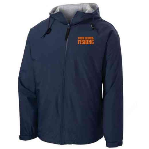Fishing Embroidered Nylon Team Jacket