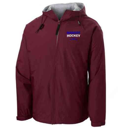Hockey Embroidered Nylon Team Jacket