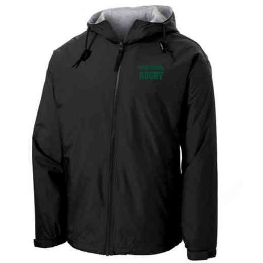 Rugby Embroidered Nylon Team Jacket