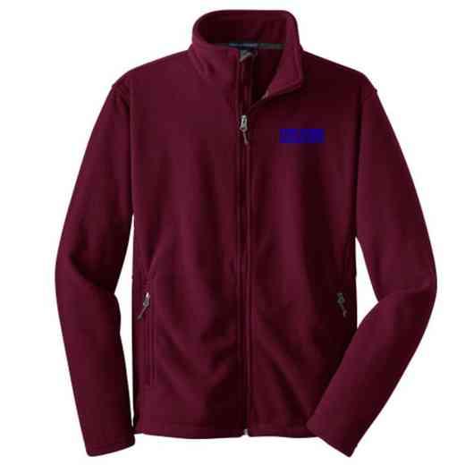 Athletic Department Embroidered Adult Zip Fleece Jacket