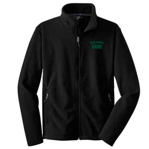 Band Embroidered Adult Zip Fleece Jacket