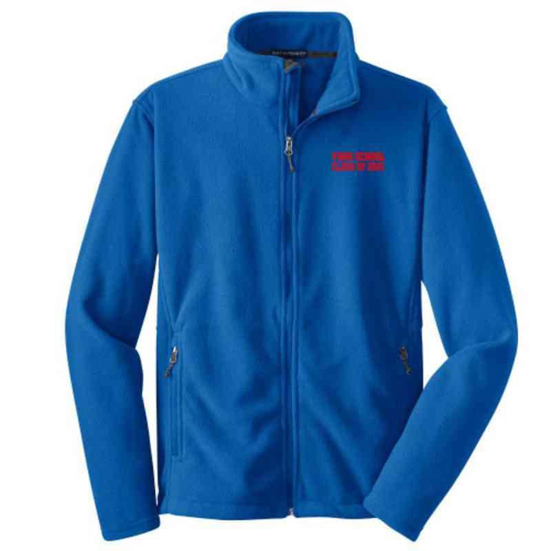 Class Embroidered Adult Zip Fleece Jacket