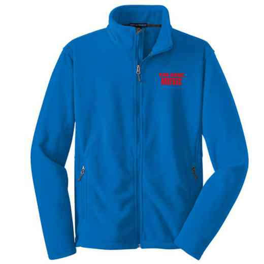 Music Embroidered Adult Zip Fleece Jacket