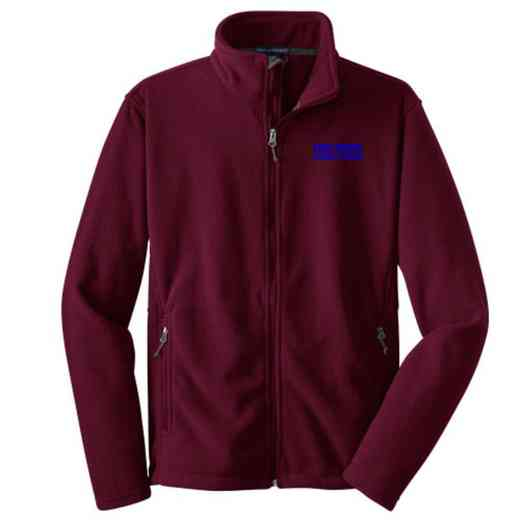 Student Council Embroidered Adult Zip Fleece Jacket