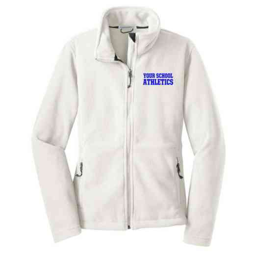 Athletics Embroidered Women's Zip Fleece Jacket
