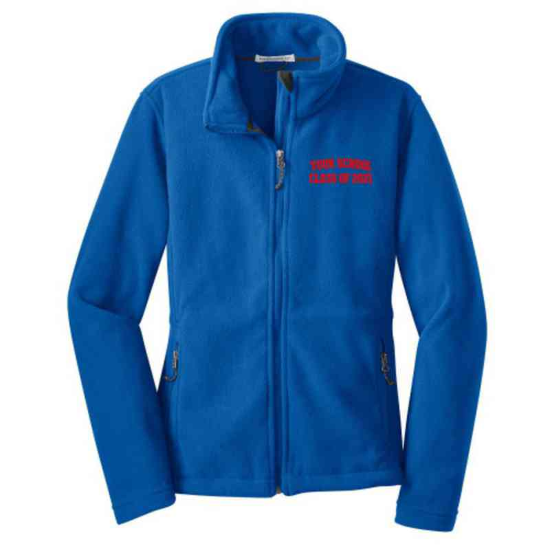 Class of  Embroidered Women's Zip Fleece Jacket