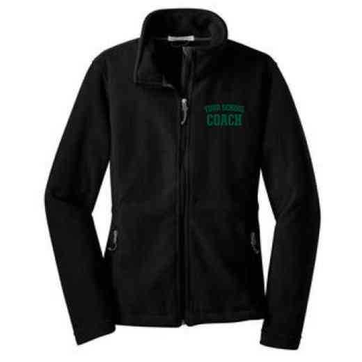 Coach Embroidered Women's Zip Fleece Jacket
