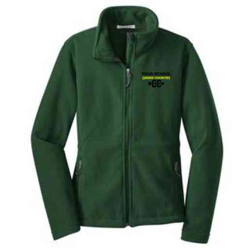 Cross Country Embroidered Women's Zip Fleece Jacket