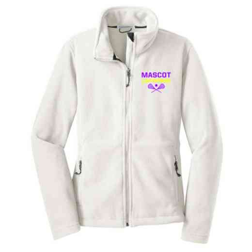 Lacrosse Embroidered Women's Zip Fleece Jacket