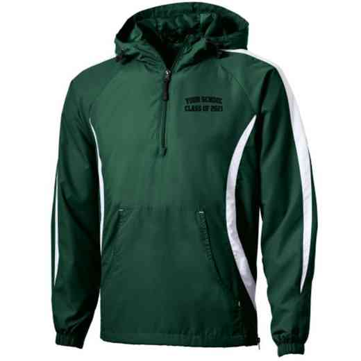 Class of  Embroidered Sport-Tek Half Zip Raglan Anorak