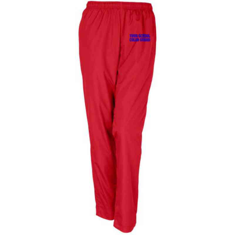 Color Guard Embroidered Sport-Tek Womens Tricot Track Pant