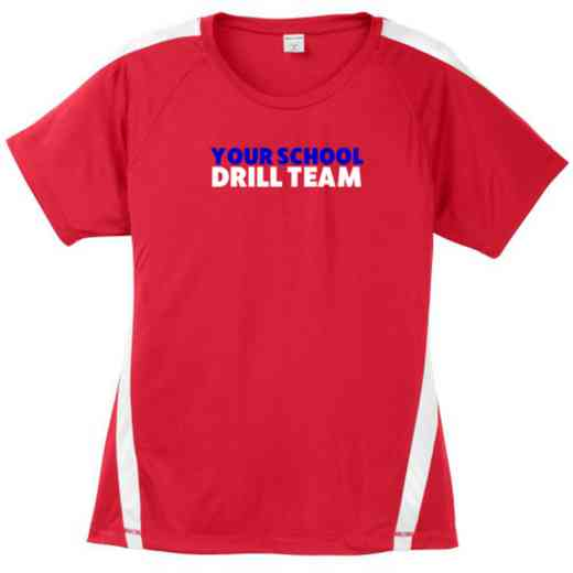 Drill Team Sport-Tek Colorblock Competitor T-Shirt