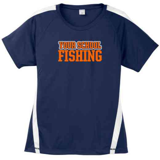 Fishing Sport-Tek Colorblock Competitor T-Shirt