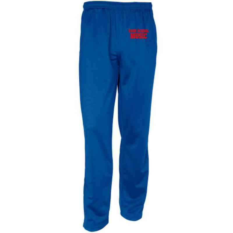 Music Embroidered Sport-Tek Adult Tricot Track Pant