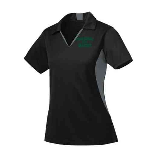 Cross Country Sport-Tek Embroidered Womens Side Blocked Sport Wick Polo