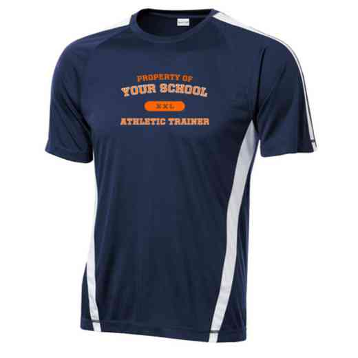 Athletic Trainer Sport-Tek Colorblock Competitor T-Shirt