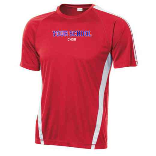 Choir Sport-Tek Colorblock Competitor T-Shirt
