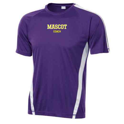 Coach Sport-Tek Colorblock Competitor T-Shirt
