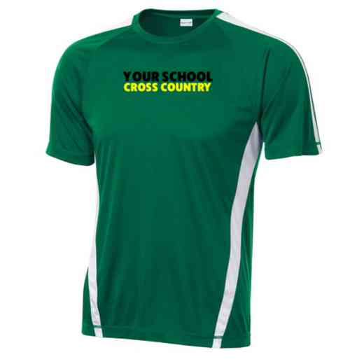Cross Country Sport-Tek Colorblock Competitor T-Shirt