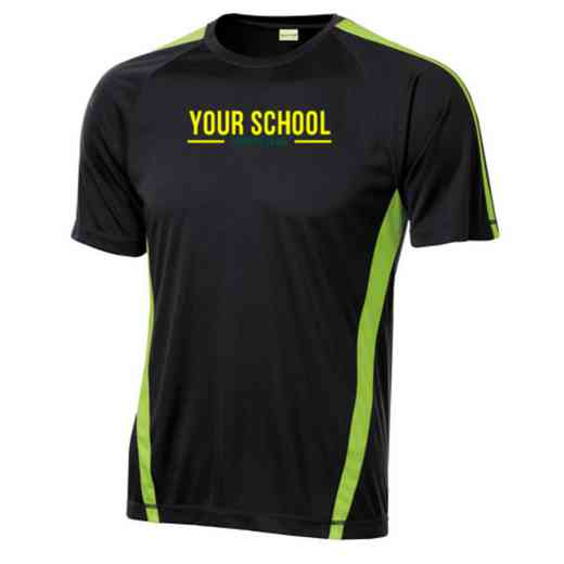 Debate Team Sport-Tek Colorblock Competitor T-Shirt