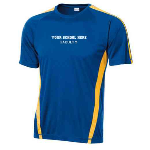 Faculty Sport-Tek Colorblock Competitor T-Shirt