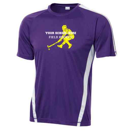 Field Hockey Sport-Tek Colorblock Competitor T-Shirt