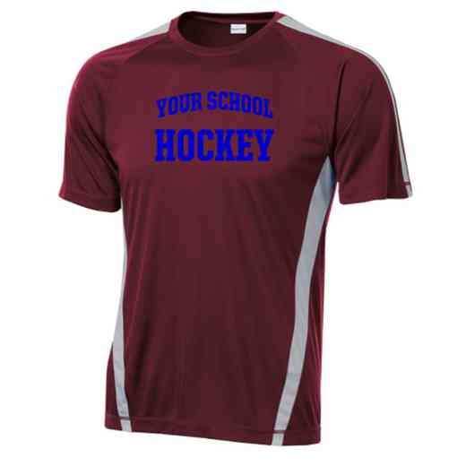 Hockey Sport-Tek Colorblock Competitor T-Shirt