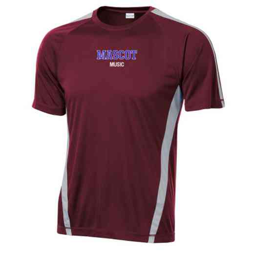 Music Sport-Tek Colorblock Competitor T-Shirt