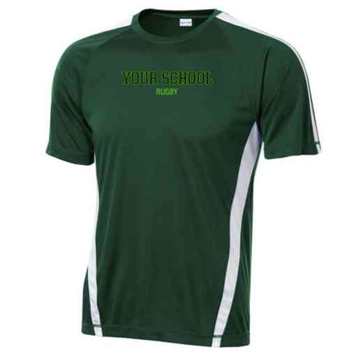 Rugby Sport-Tek Colorblock Competitor T-Shirt