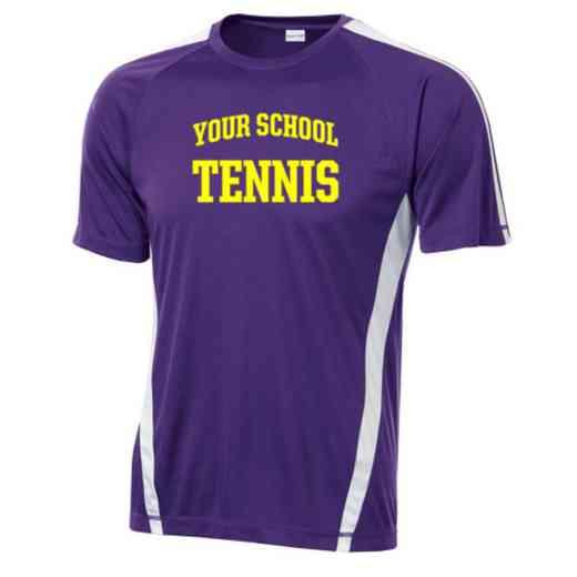 Tennis Sport-Tek Colorblock Competitor T-Shirt