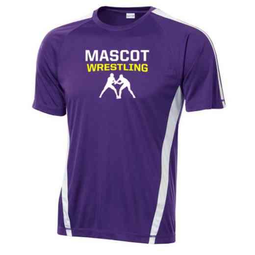 Wrestling Sport-Tek Colorblock Competitor T-Shirt