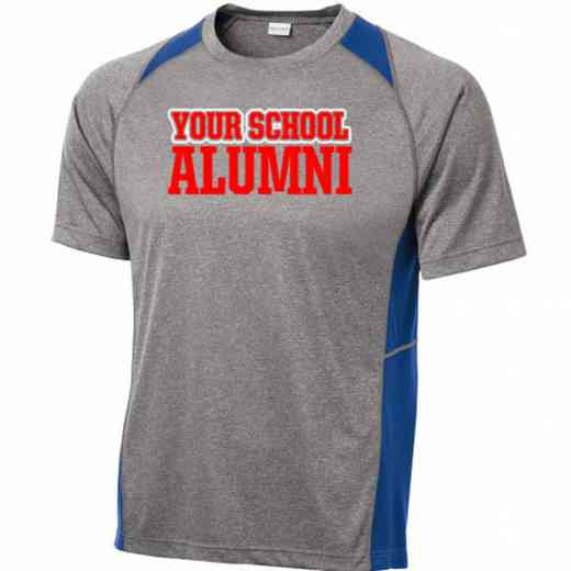 Alumni Sport-Tek Heathered Short Sleeve Performance T-shirt