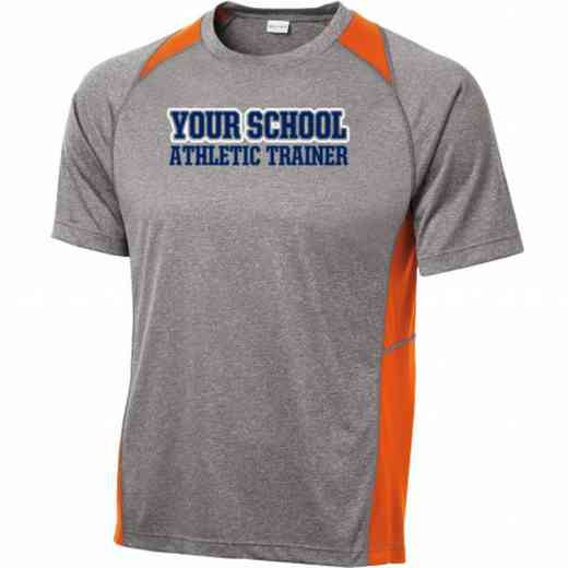 Athletic Trainer Sport-Tek Heathered Short Sleeve Performance T-shirt