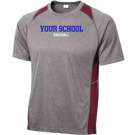 Baseball Sport-Tek Heathered Short Sleeve Performance T-shirt