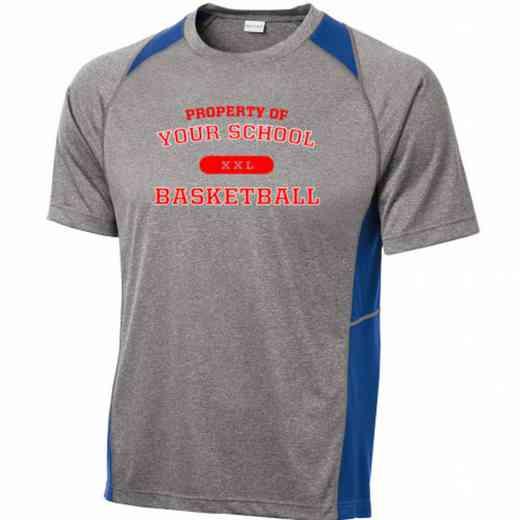 Basketball Sport-Tek Heathered Short Sleeve Performance T-shirt