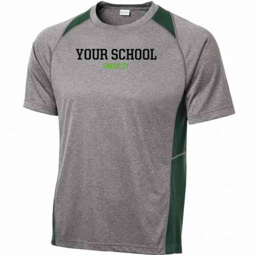 Faculty Sport-Tek Heathered Short Sleeve Performance T-shirt
