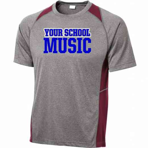 Music Sport-Tek Heathered Short Sleeve Performance T-shirt