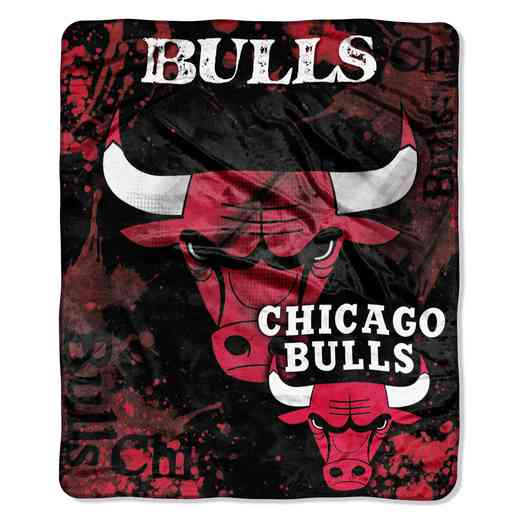 1NBA070200004RET: NBA DROPDOWN RASCHEL THROW, Bulls