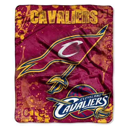 1NBA070200005RET: NBA DROPDOWN RASCHEL THROW, Cavaliers